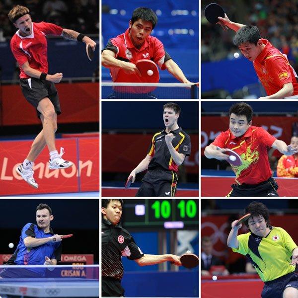 Els 8 jugadors classificats pels quarts de final